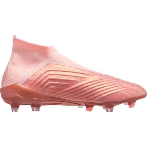 adidas Predator 18  FG – Clear Orange/Trace Pink