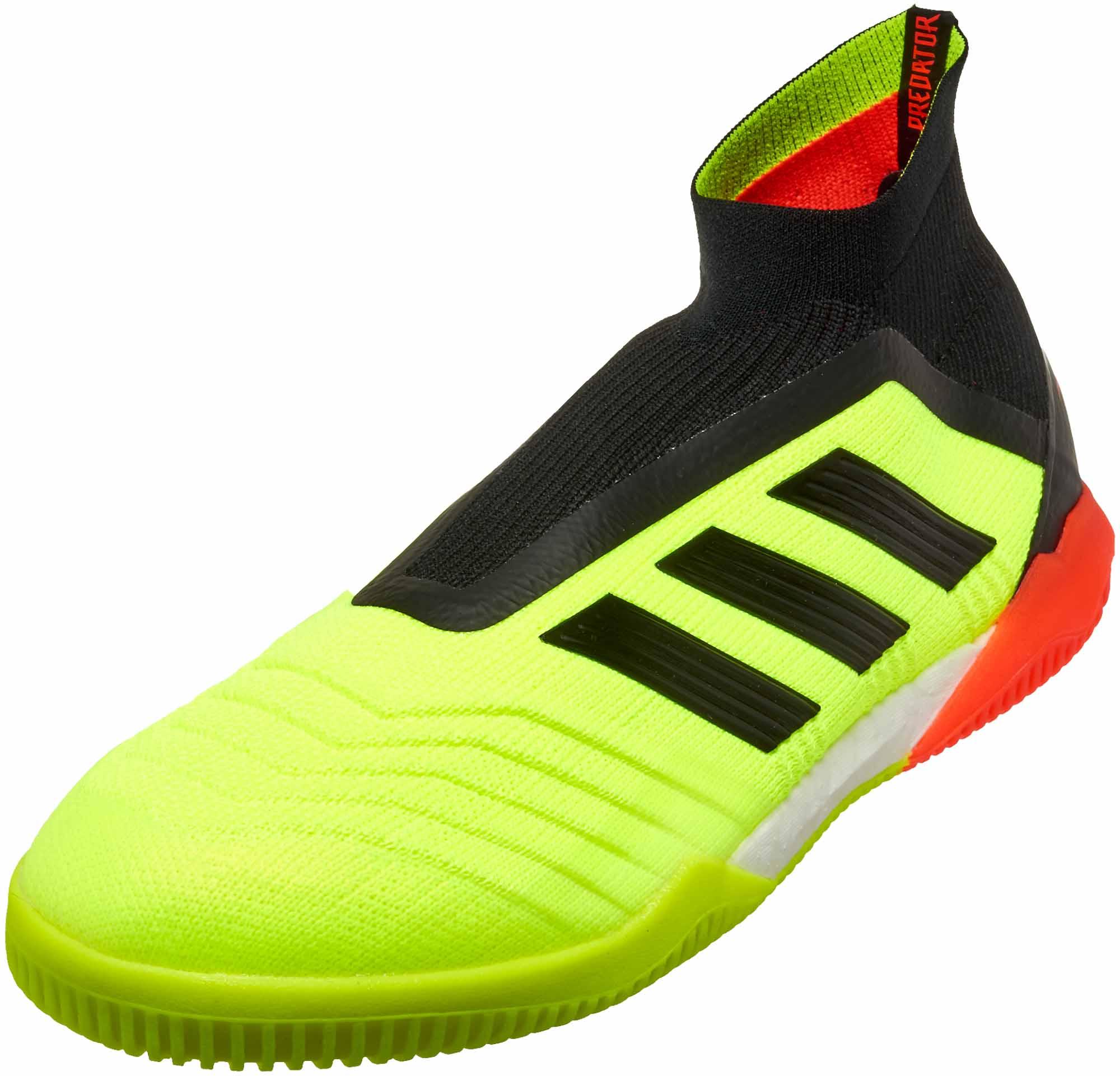 sports shoes e6761 2aadd adidas Predator Tango 18 IN – Solar YellowBlackSolar Red