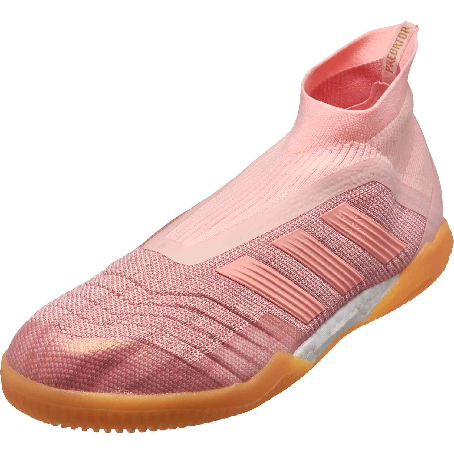 premium selection 9be1f 1d430 adidas Predator Tango 18+ IN – Clear OrangeTrace Pink