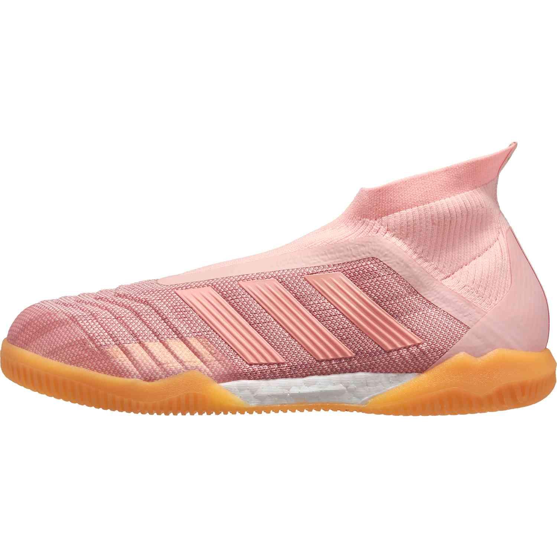 pretty nice 9b410 c0b48 adidas Predator Tango 18+ IN – Clear Orange Trace Pink