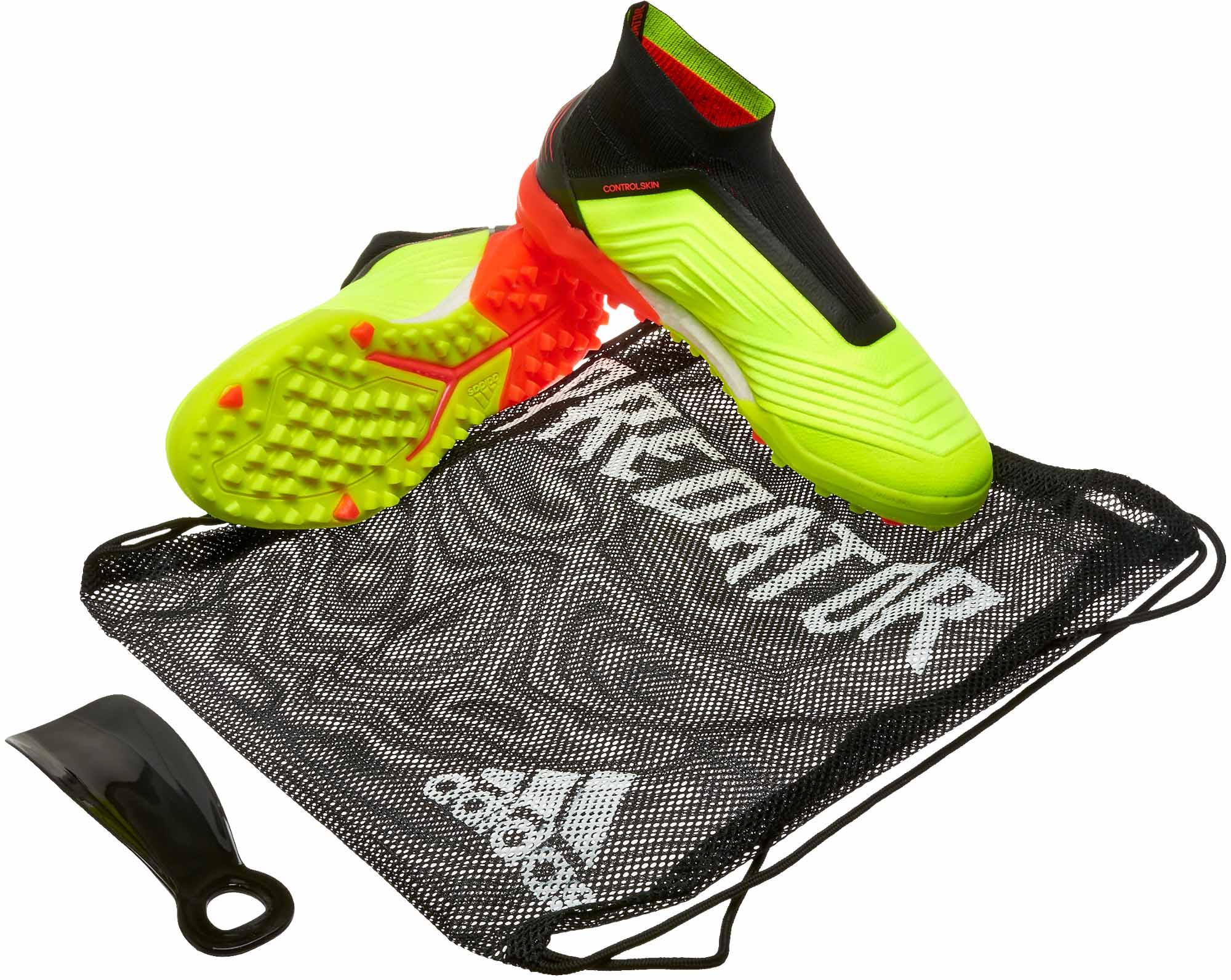 c5cc3028b adidas Predator Tango 18 TF - Solar Yellow Black Solar Red - SoccerPro