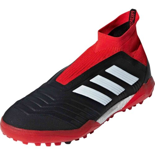 adidas Predator Tango 18  TF – Black/White/Red
