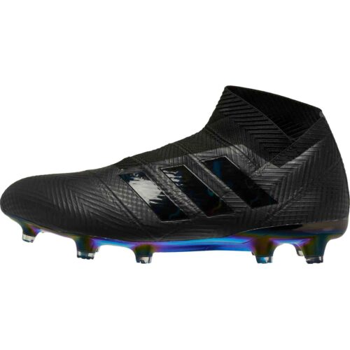 adidas Nemeziz 18  FG – Black/Black/White