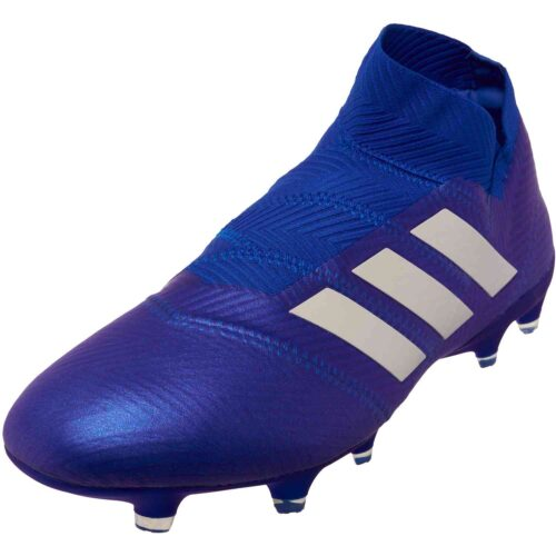 adidas Nemeziz 18+ FG – Football Blue/White