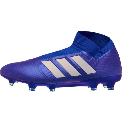 adidas Nemeziz 18  FG – Football Blue/White