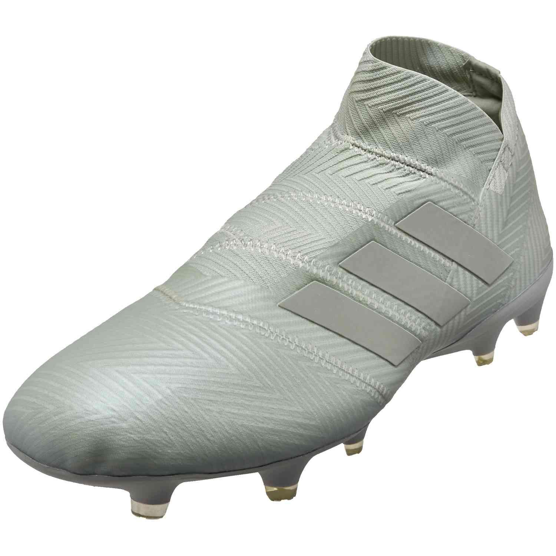 buy online 48519 b1931 adidas Nemeziz 18+ FG – Ash SilverWhite Tint