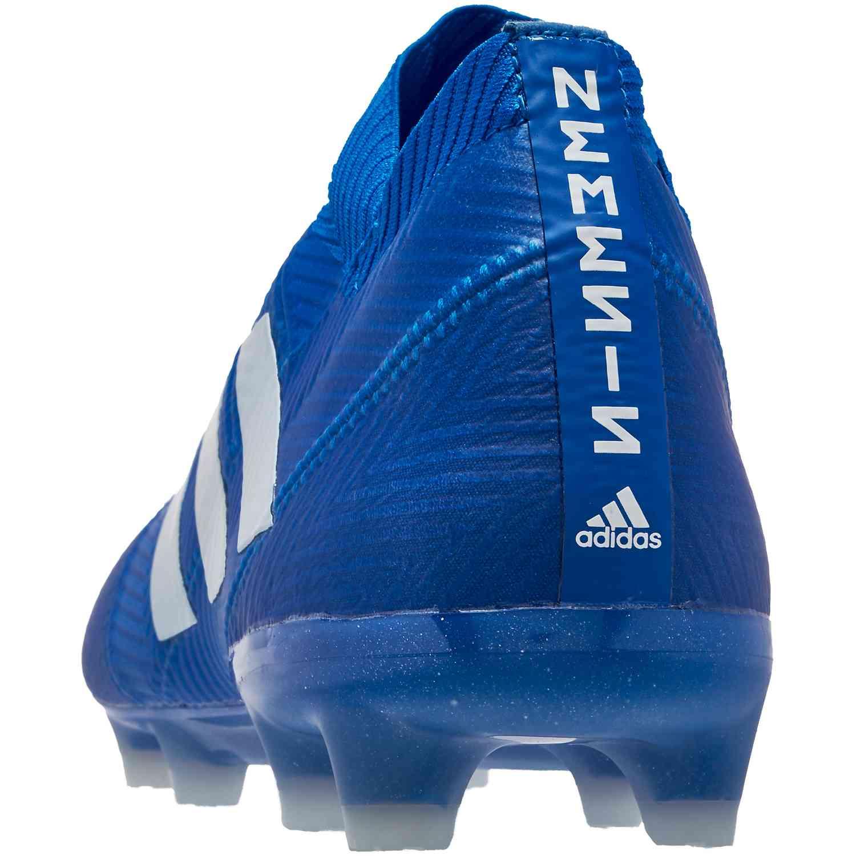 91c79c1ac039 adidas Nemeziz 18.1 FG - Football Blue/White - SoccerPro