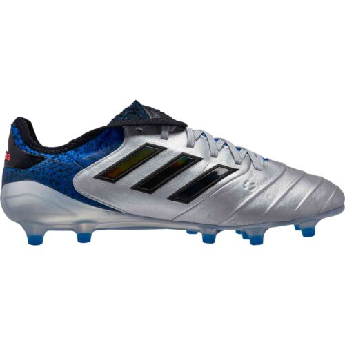 adidas Copa 18.1 FG – Silver Metallic/Black/Football Blue