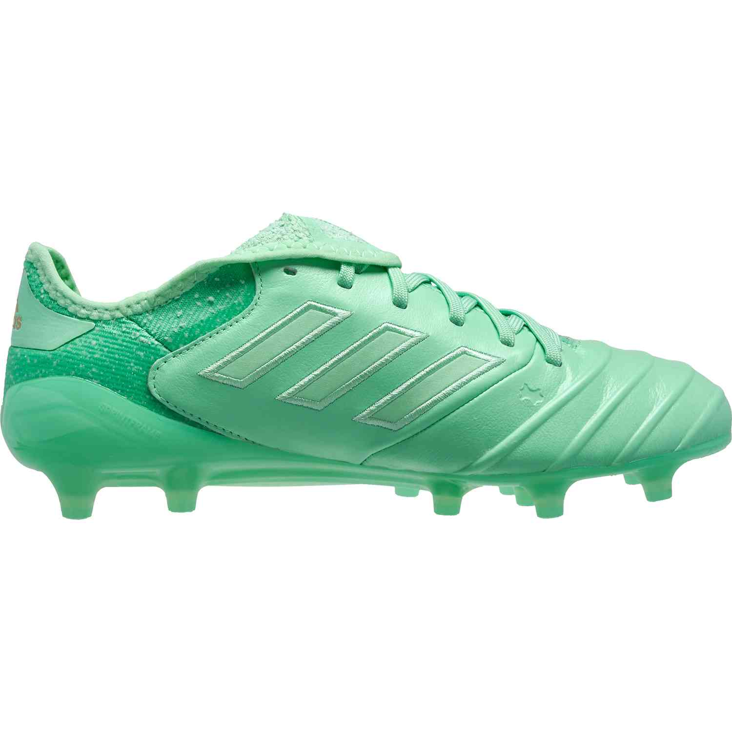 the latest 4651a 091be adidas Copa 18.1 FG – Clear MintGold Metallic