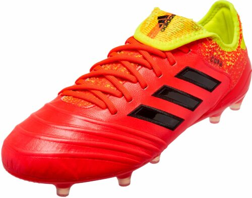 adidas Copa 18.1 FG – Solar Red/Black/Solar Yellow