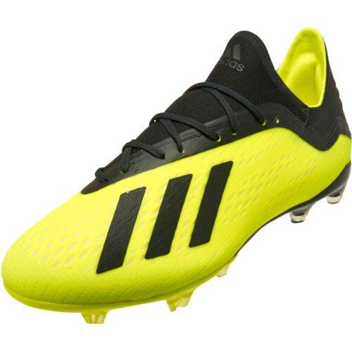 adidas X 18.2 FG – Solar Yellow/Black/White