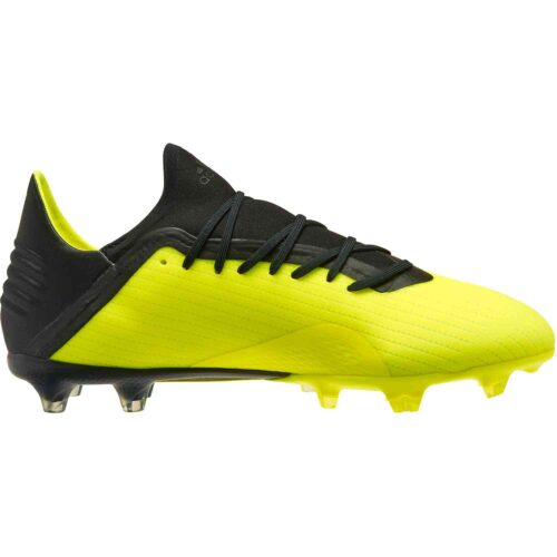 adidas X 18.2 FG – Solar Yellow/Black/White