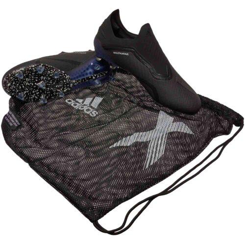 adidas X 18  FG – Black/White/Dark Grey Heather