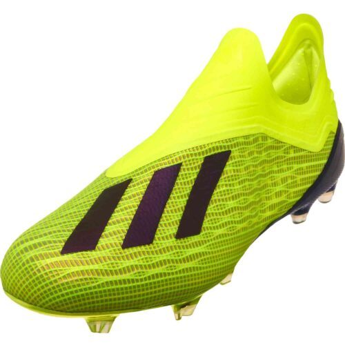 adidas X 18+ FG – Solar Yellow/Black/White
