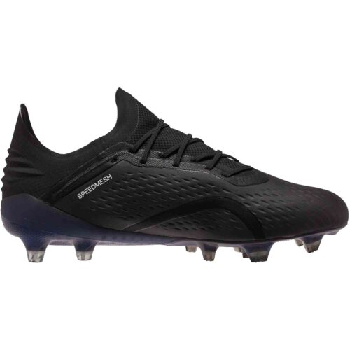 adidas X 18.1 FG – Black/White/Dark Grey Heather