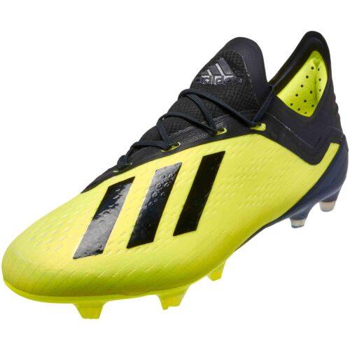 adidas X 18.1 FG – Solar Yellow/Black/White