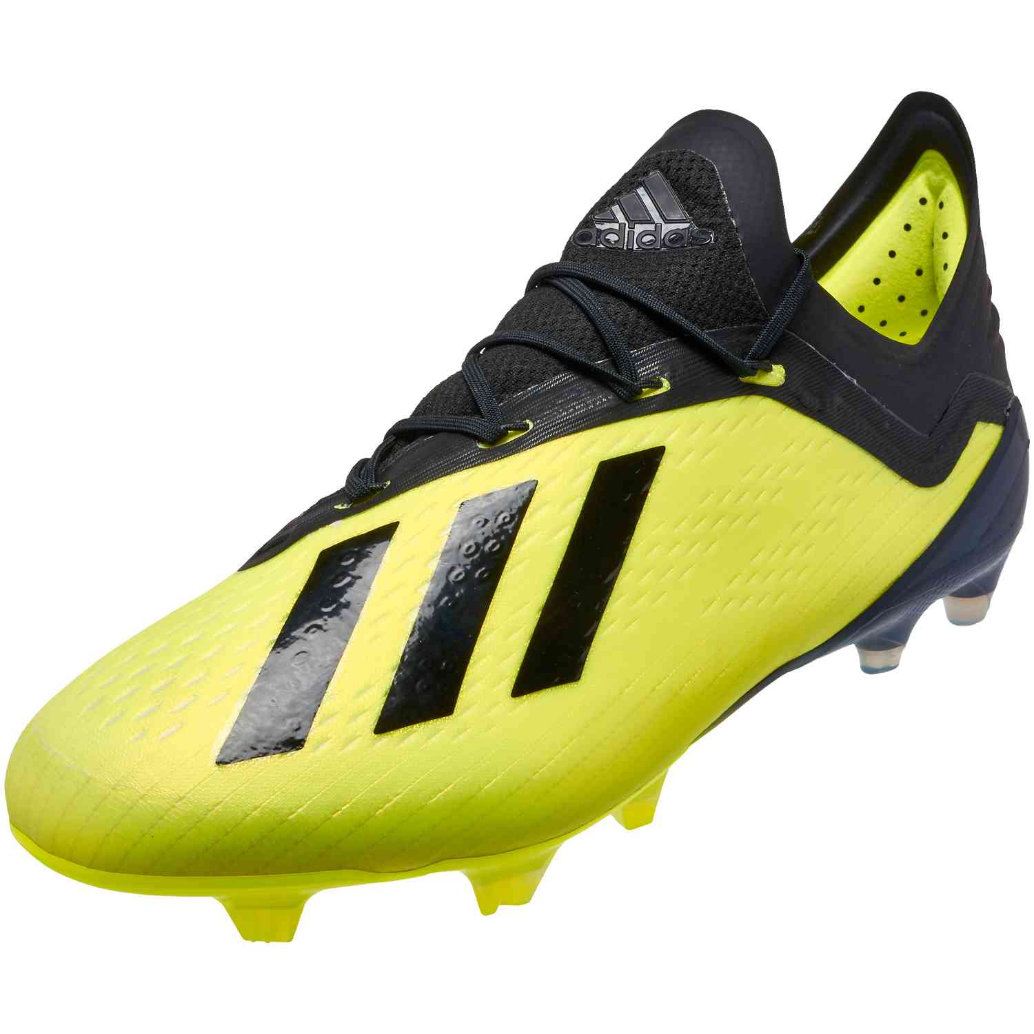 best service dced3 ed180 adidas X 18.1 FG – Solar Yellow Black White