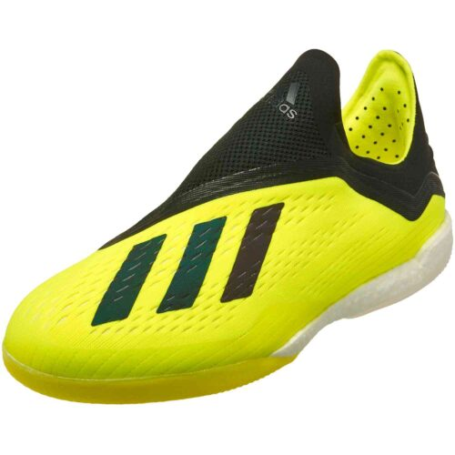 adidas X Tango 18+ IN – Solar Yellow/Black/White