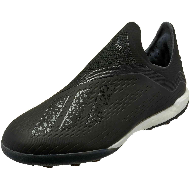 2d3ee02a02ae adidas X Tango 18 TF - Black White Dark Grey Heather - SoccerPro