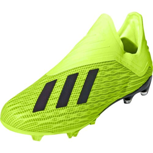 adidas X 18  FG – Youth – Solar Yellow/Black/White