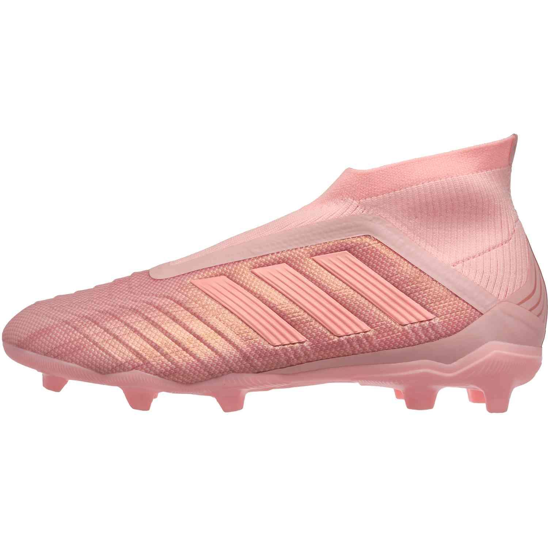 bb126e84d518 adidas Predator 18+ FG - Youth - Clear Orange/Trace Pink - SoccerPro