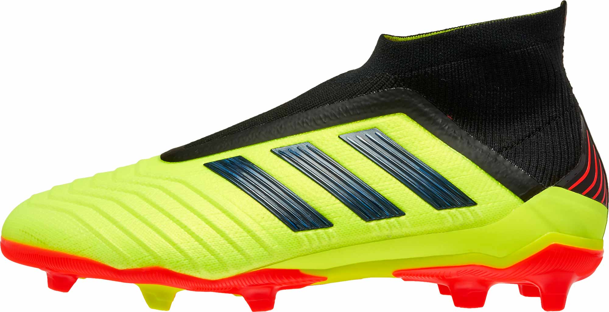 adidas Predator 18 FG - Youth - Solar Yellow Black Solar Red - SoccerPro cb67eea8d5b4