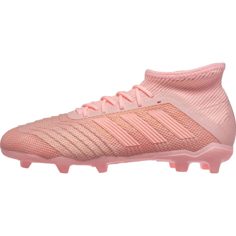 48ab936fe20ac Kids adidas Predator 18.1 FG - Trace Pink - SoccerPro