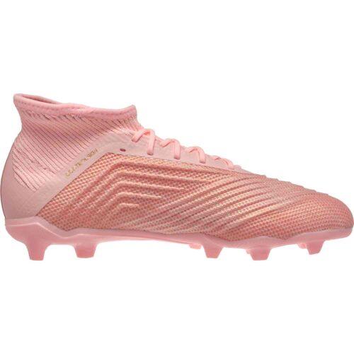 Kids adidas Predator 18.1 FG – Trace Pink