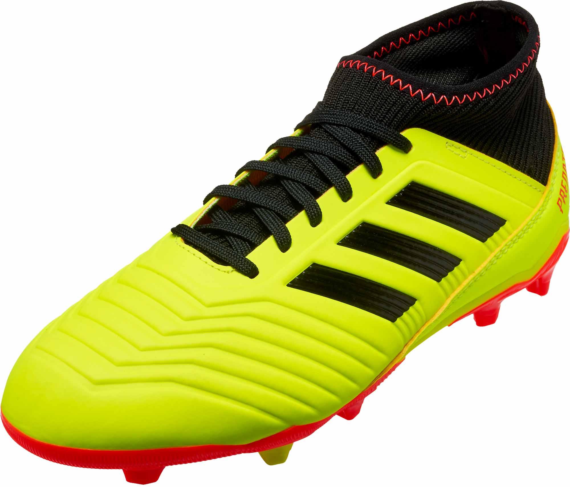 0ad9047f781ed Kids adidas Predator 18.3 FG - Energy Mode - SoccerPro