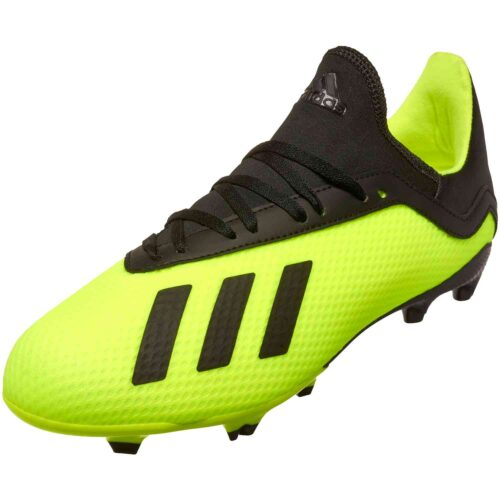 adidas X 18.3 FG – Youth – Solar Yellow/Black