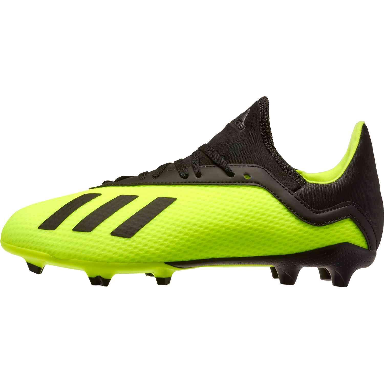 official photos 258dd 362f1 adidas X 18.3 FG - Youth - Solar Yellow/Black - SoccerPro