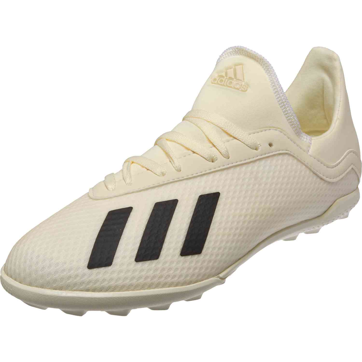 968ff940b adidas X Tango 18.3 TF - Youth - Off White/White/Black - SoccerPro