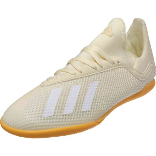 adidas X Tango 18.3 IN – Youth – Off White/White/Black
