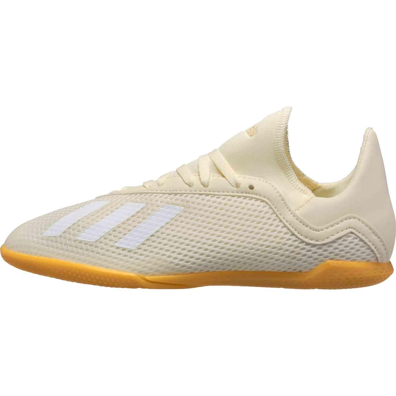 adidas X Tango 18.3 IN Youth Off WhiteWhiteBlack SoccerPro