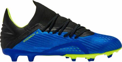 adidas X 18.1 FG – Youth – Football Blue/Solar Yellow