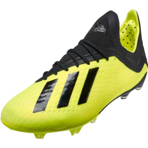 adidas X 18.1 FG – Youth – Solar Yellow/Black/White