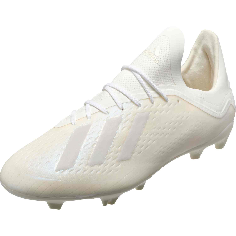 bad4c2e954 Kids adidas X 18.1 FG - Off White - SoccerPro