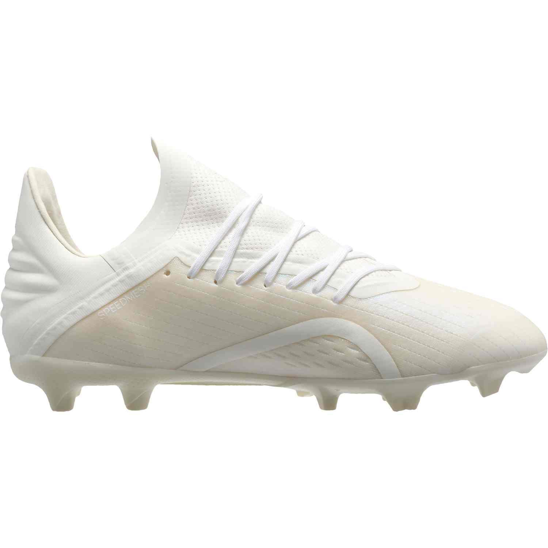 6f7db3c5f178 Kids adidas X 18.1 FG - Off White - SoccerPro