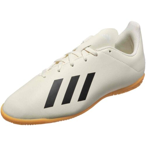 adidas X Tango 18.4 IN – Youth – Off White/White/Black