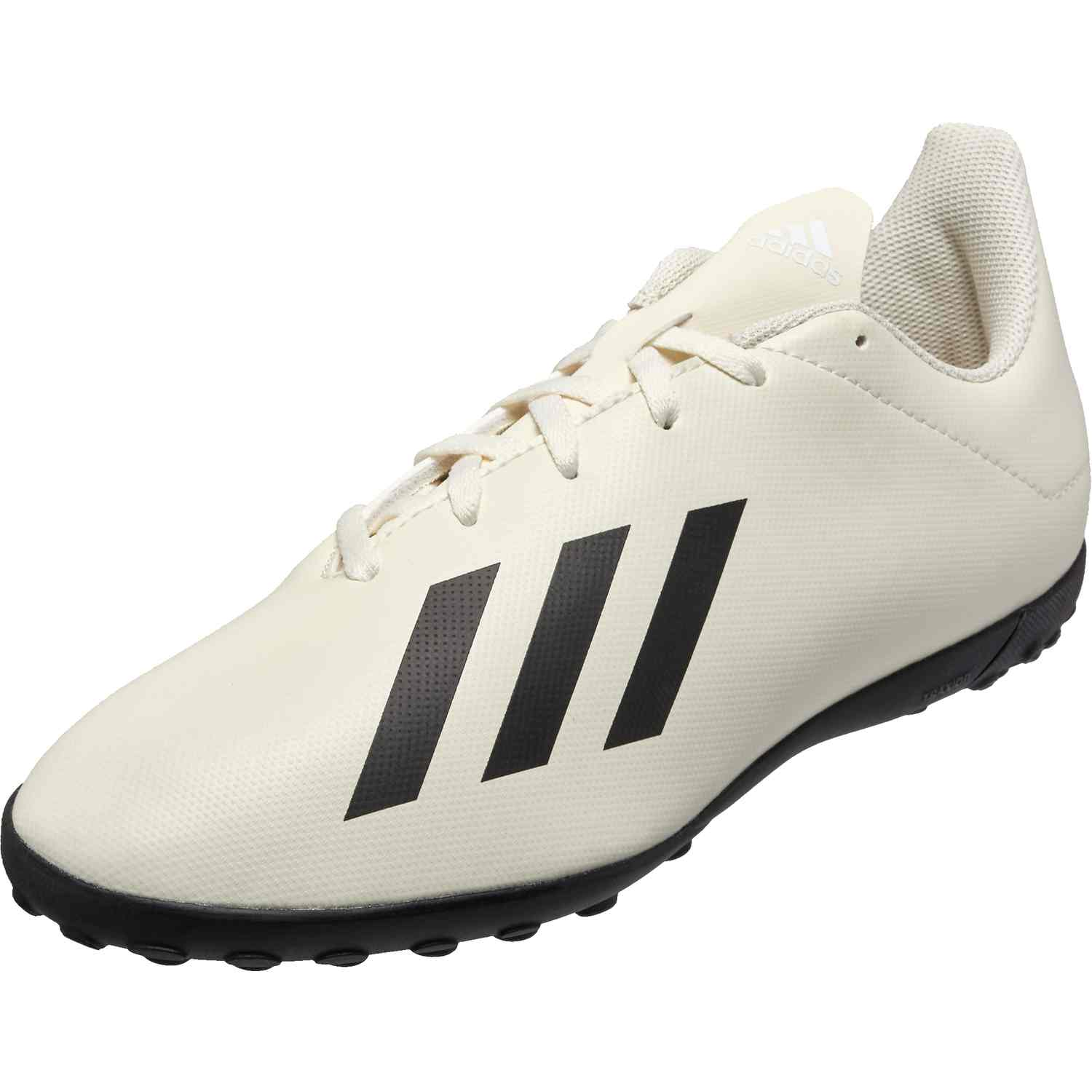 e56c7ccfe3d577 adidas X Tango 18.4 TF - Youth - Off White White Black - SoccerPro