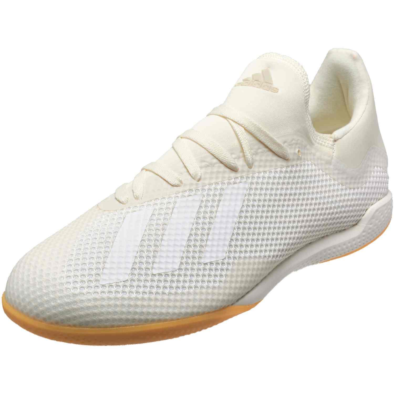 e32061d4fb7 adidas X Tango 18.3 IN - Off White Black - SoccerPro