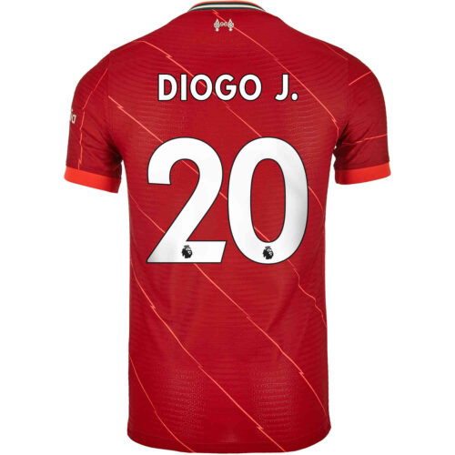 2021/22 Nike Diogo Jota Liverpool Home Match Jersey