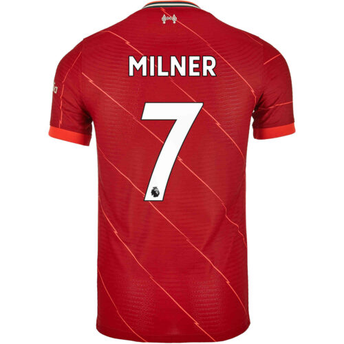 2021/22 Nike James Milner Liverpool Home Match Jersey