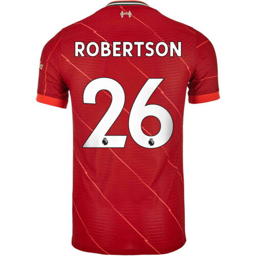 2021/22 Nike Andrew Robertson Liverpool Home Match Jersey