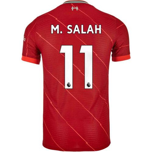 2021/22 Nike Mohamed Salah Liverpool Home Match Jersey