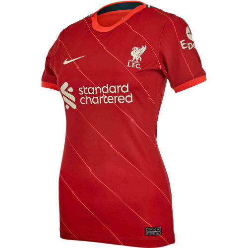 2021/22 Womens Nike Liverpool Home Jersey