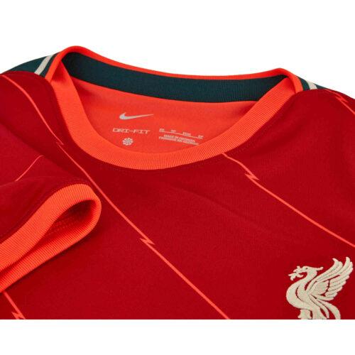 2021/22 Womens Nike Jordan Henderson Liverpool Home Jersey