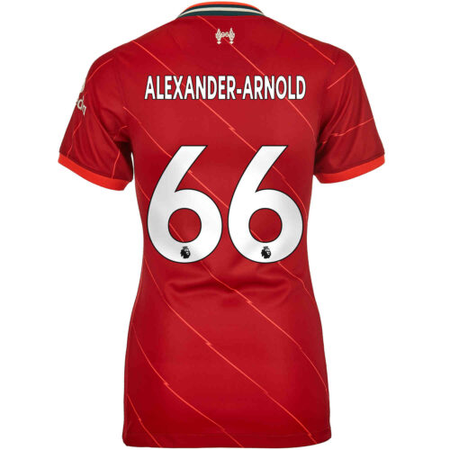 2021/22 Womens Nike Trent Alexander-Arnold Liverpool Home Jersey