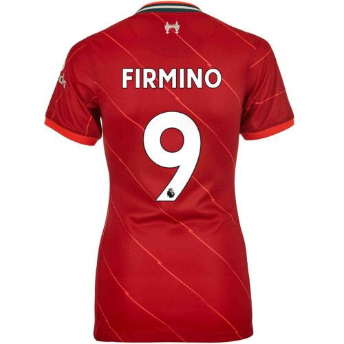 2021/22 Womens Nike Roberto Firmino Liverpool Home Jersey