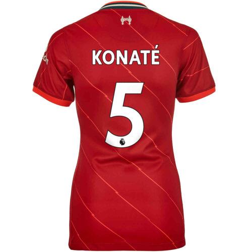 2021/22 Womens Nike Ibrahima Konate Liverpool Home Jersey